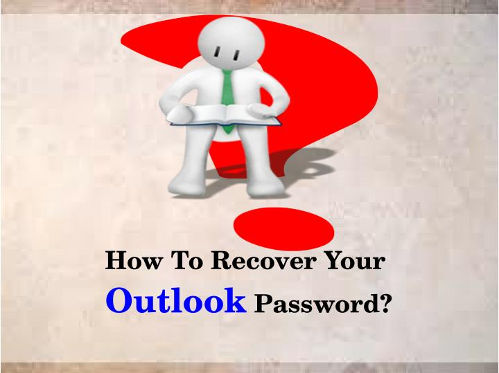 how to recover your outlook password n.