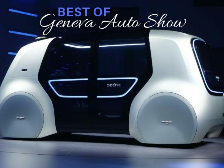 best of geneva auto show n.