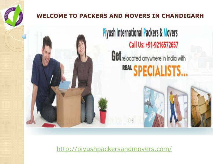 welcome to packers and movers in chandigarh n.