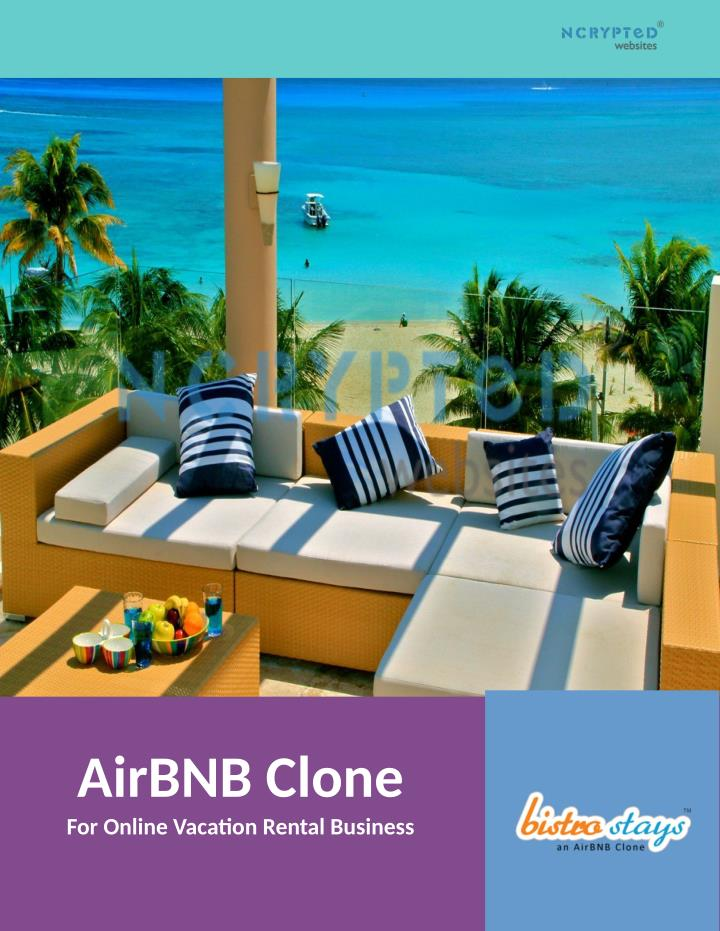 airbnb clone for online vacation rental business n.