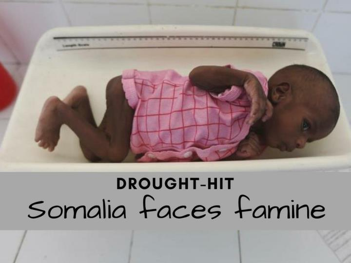 dry season hit somalia confronts famine n.