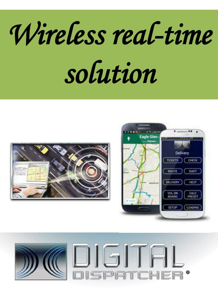 wireless real time solution n.