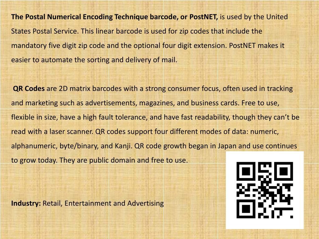 PPT - Barcode invention & evolution PowerPoint Presentation