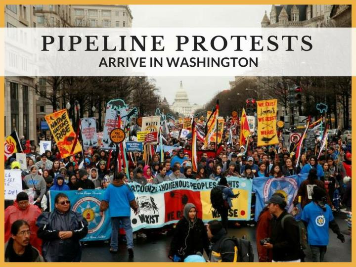 pipeline dissents touch base in washington n.