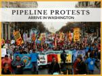 pipeline dissents touch base in washington