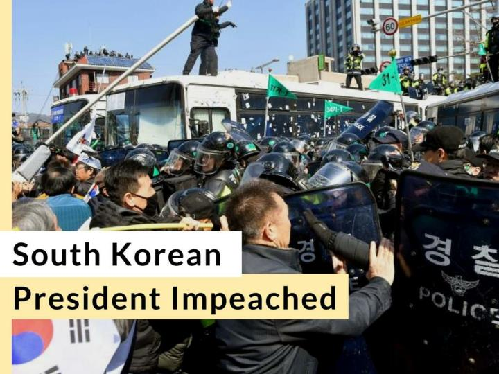south korean president impeached n.