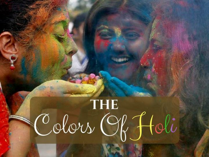 the shades of holi n.