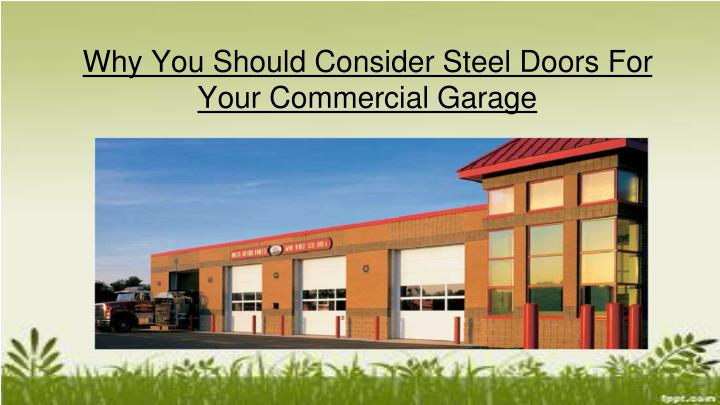 why you should consider steel doors for your n.