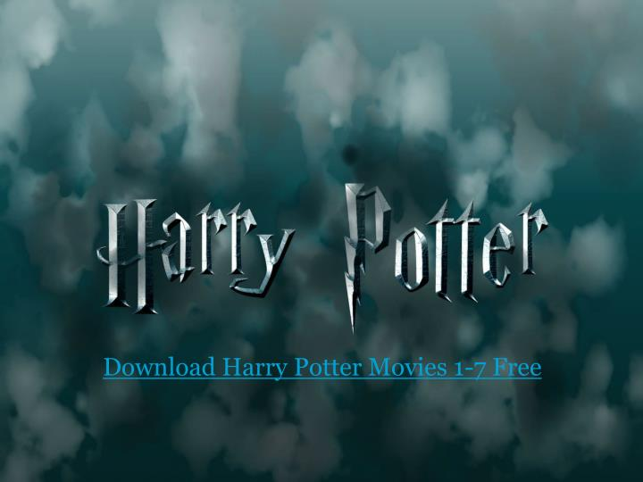 Ppt Download Harry Potter Movies 1 7 Free Powerpoint