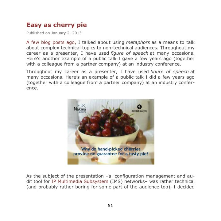 Easy as cherry pie