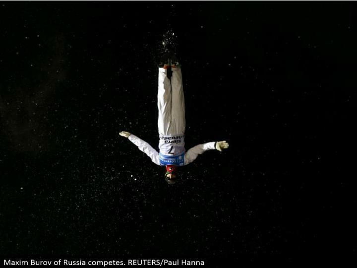 Maxim Burov of Russia contends. REUTERS/Paul Hanna