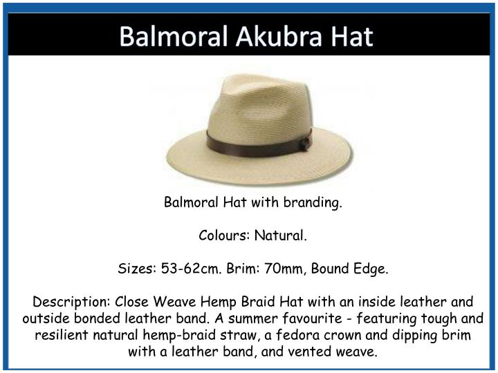 96052811fd0 PPT - Shop For Akubra Hats at Vivid Promotions Australia PowerPoint ...
