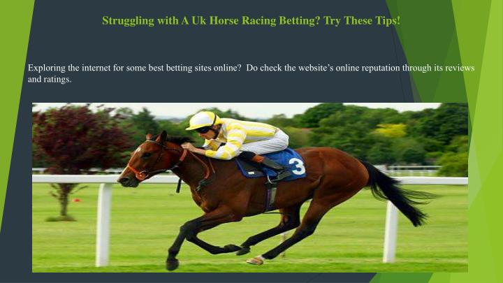 Uk horse racing betting tips how to bet money on boxing online