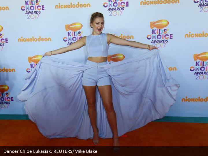 Dancer Chloe Lukasiak. REUTERS/Mike Blake
