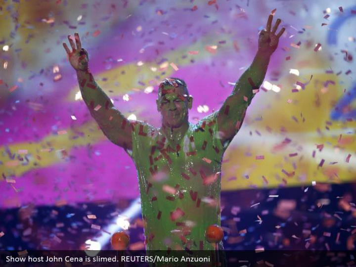 Show have John Cena is smeared. REUTERS/Mario Anzuoni