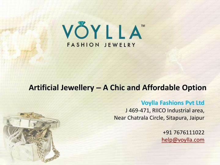 artificial jewellery a chic and affordable option n.
