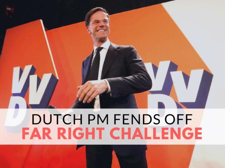Dutch PM battles off far right challenge
