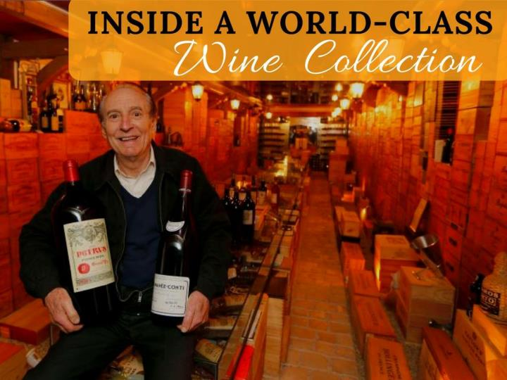 inside a world class wine collection n.