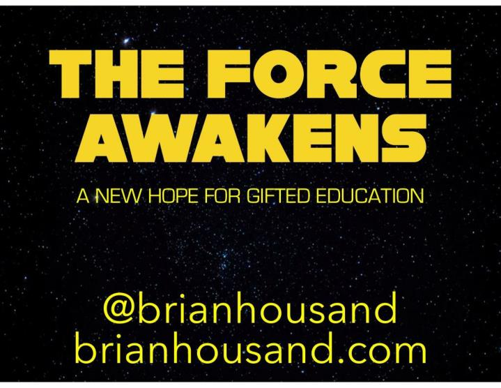 the force awakens a new hope for gifted education n.