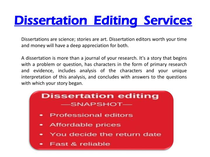 edit dissertations Dissertation editing and proofreading all dissertation editing, proofreading, and formatting is done by writing editors with phds we've helped polish thousands of doctoral dissertations now, let us help you with yours.