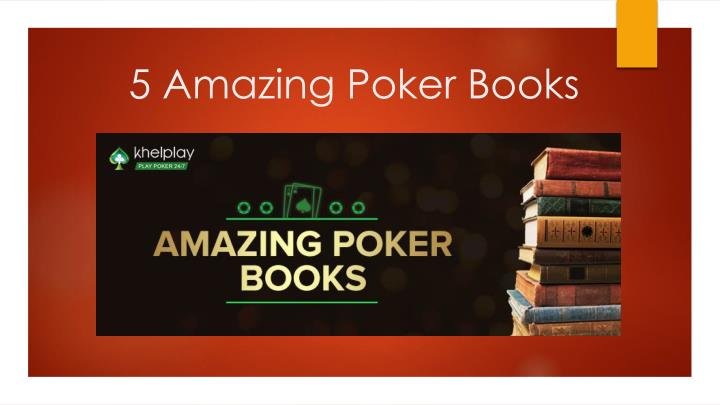 Ppt 5 Amazing Poker Books Powerpoint Presentation Free Download
