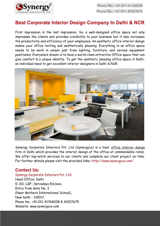 Ppt Interior Designers In Delhi Office Designs In India Powerpoint Presentation Id 7531663