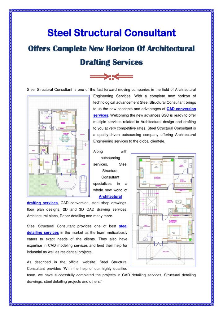 PPT - New Horizon Of Architectural Drafting Services