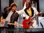 bruce springstein and chuck berry perform johnny