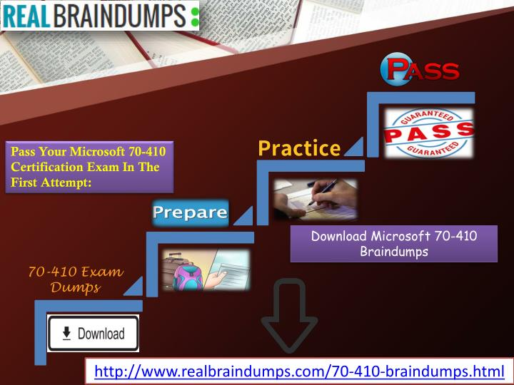 Ppt Real Brain Dumps 70 410 Question With Answer Powerpoint