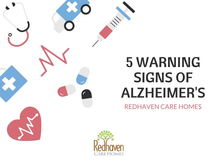 5 warning signs of alzheimer s redhaven care homes n.
