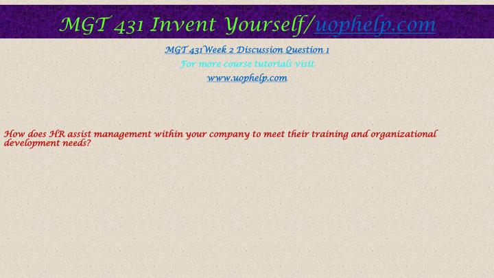 mgt 4481 chapter 1 2 discussion questions