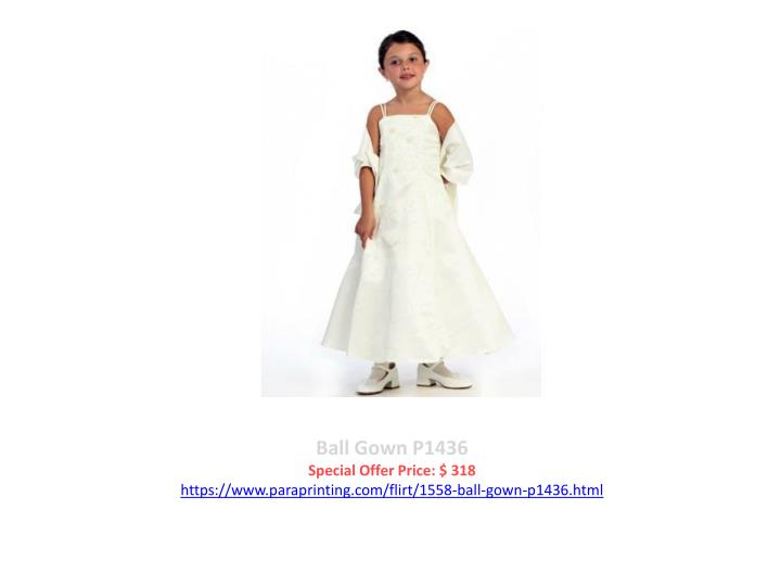 Ball Gown P1436