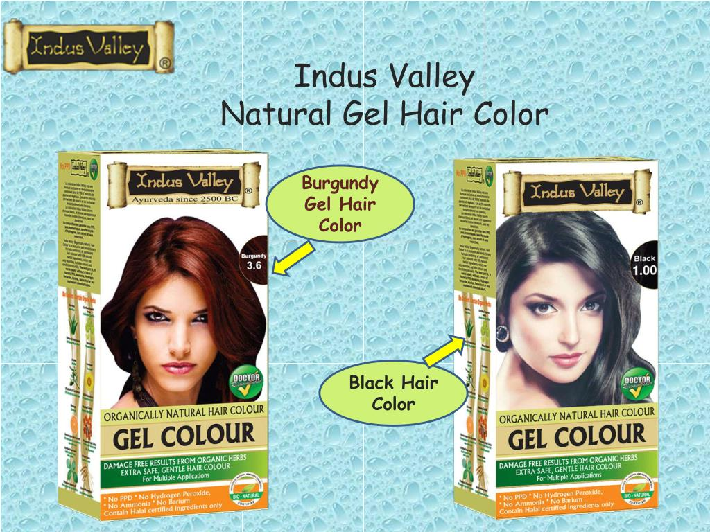 Ppt Natural Way To Get Rid Of Grey Hair Safe Hair Color Solution