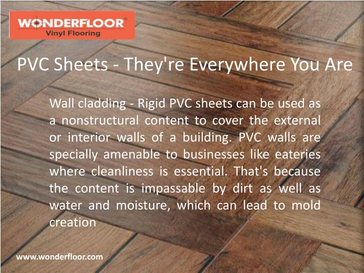 pvc sheets they re everywhere you are n.