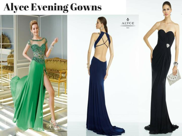 Alyce Evening Gowns