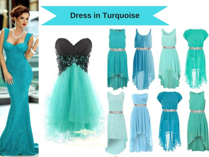 Dress in Turquoise