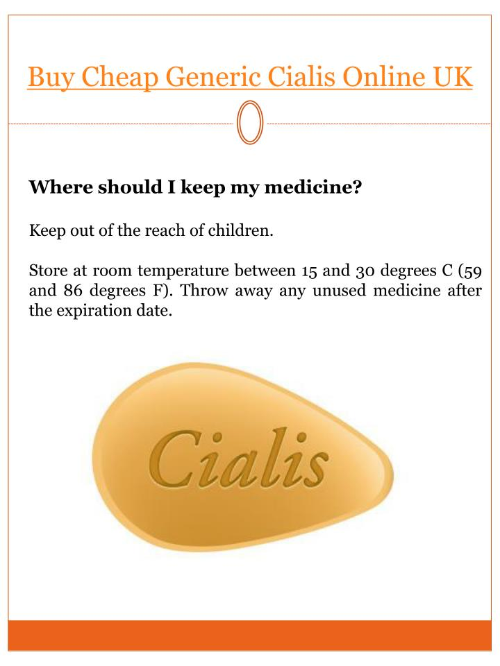 When should i take cialis