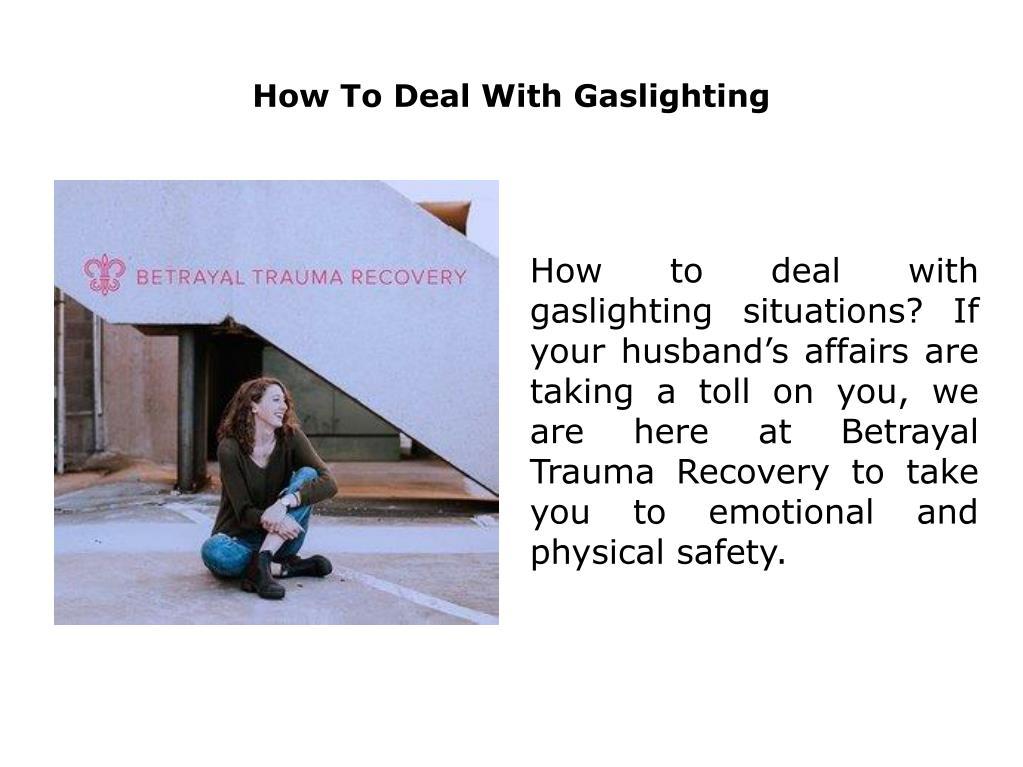 PPT - Gaslighting PowerPoint Presentation - ID:7534523