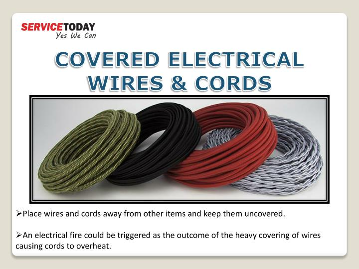 COVERED ELECTRICAL WIRES & CORDS