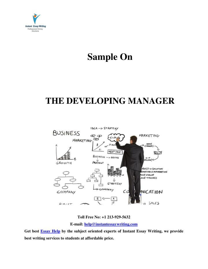 developing manager Business development managers are responsible for managing expectations and developing business solutions for their organizations they are in charge of creating effective business plans to.