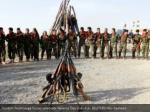 kurdish peshmerga powers observe newroz