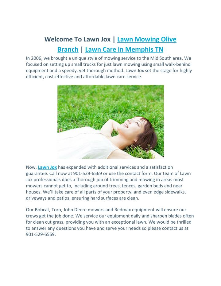 welcome to lawn jox lawn mowing olive branch lawn n.