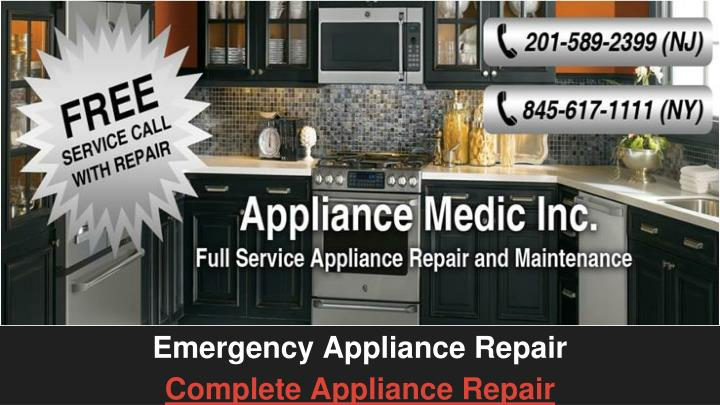 a emergency appliance repair complete appliance repair n.