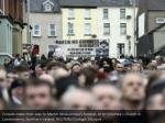 crowds make their way to martin mcguinness