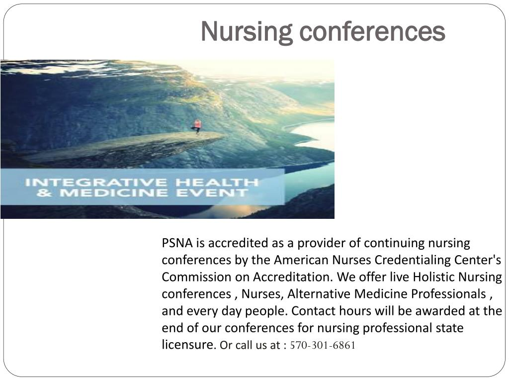 PPT - Holistic Nursing Conferences USA| Medicine Conferences