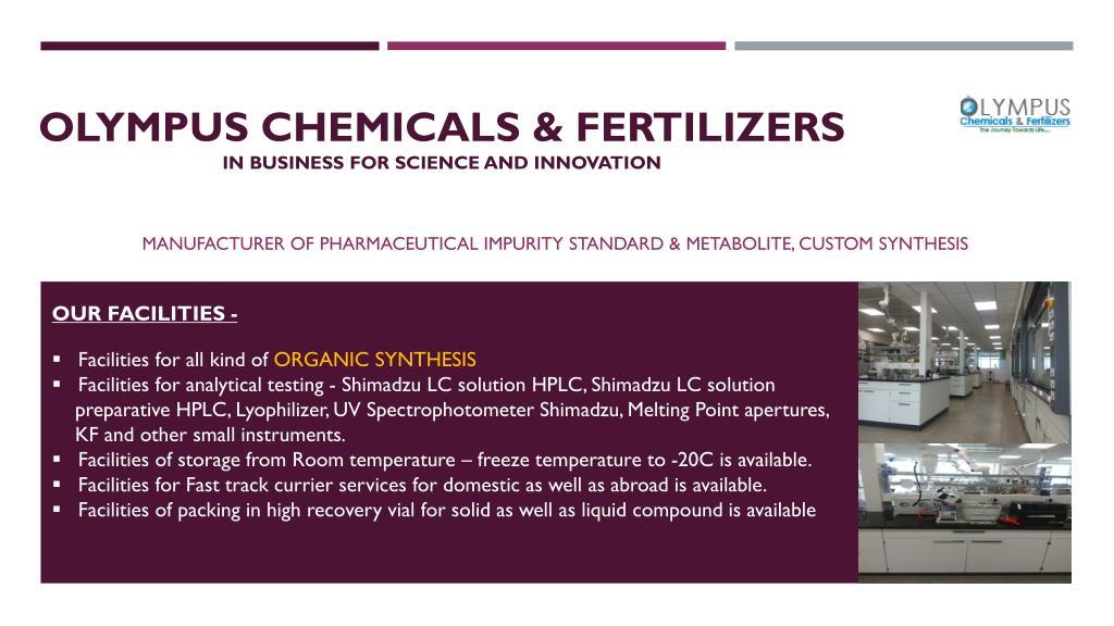 PPT - API, Pharmacopoeia Impurities | Olympus Impurities