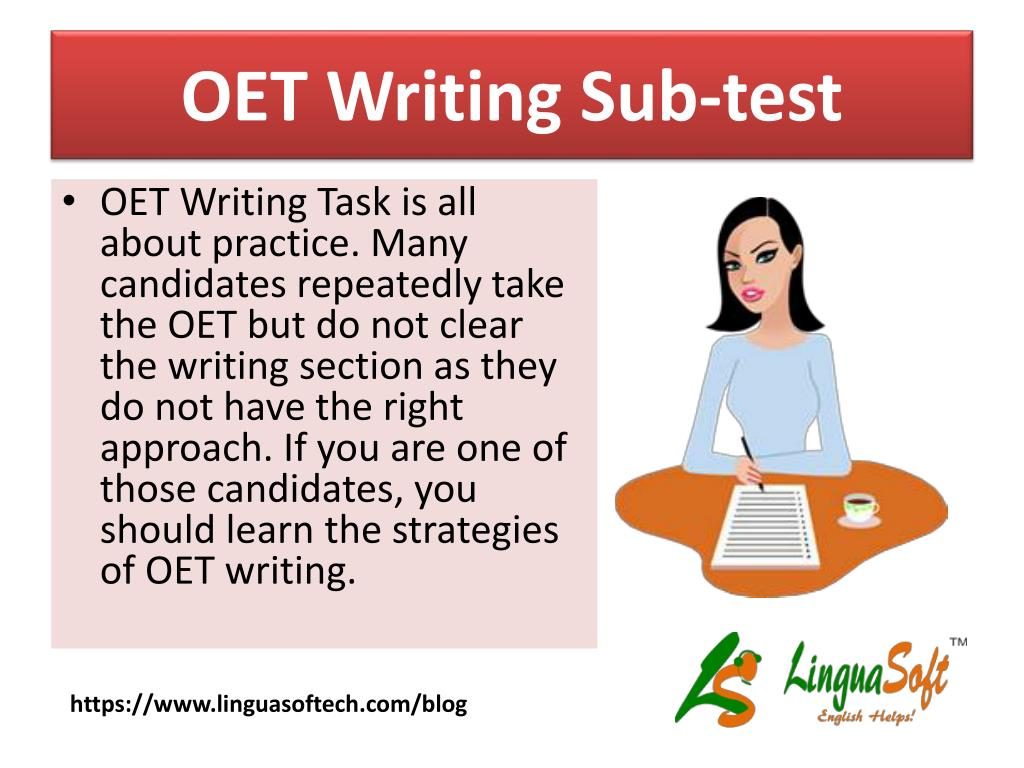 PPT - OET Writing Tips PowerPoint Presentation - ID:7537355
