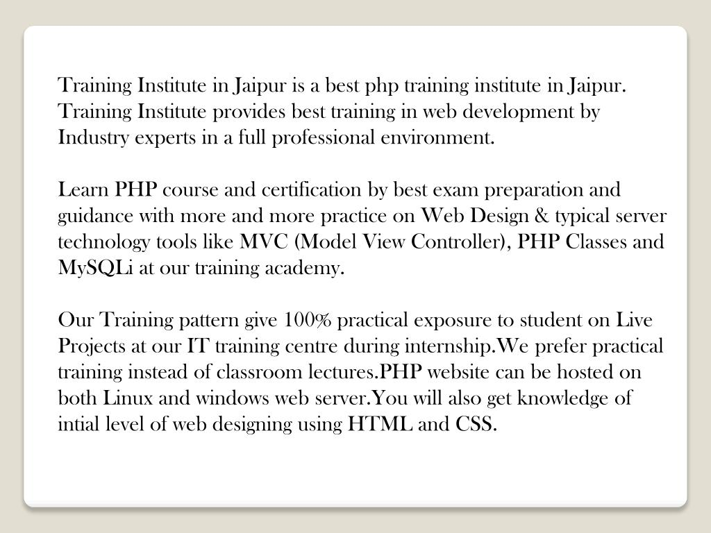 Best php certification exam