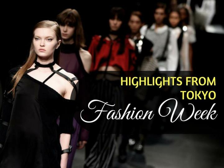 highlights from tokyo fashion week n.
