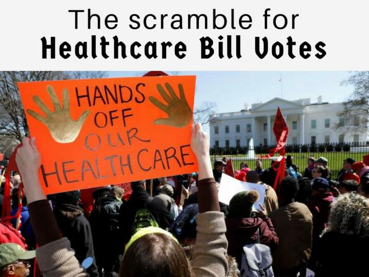 the scramble for healthcare bill votes n.